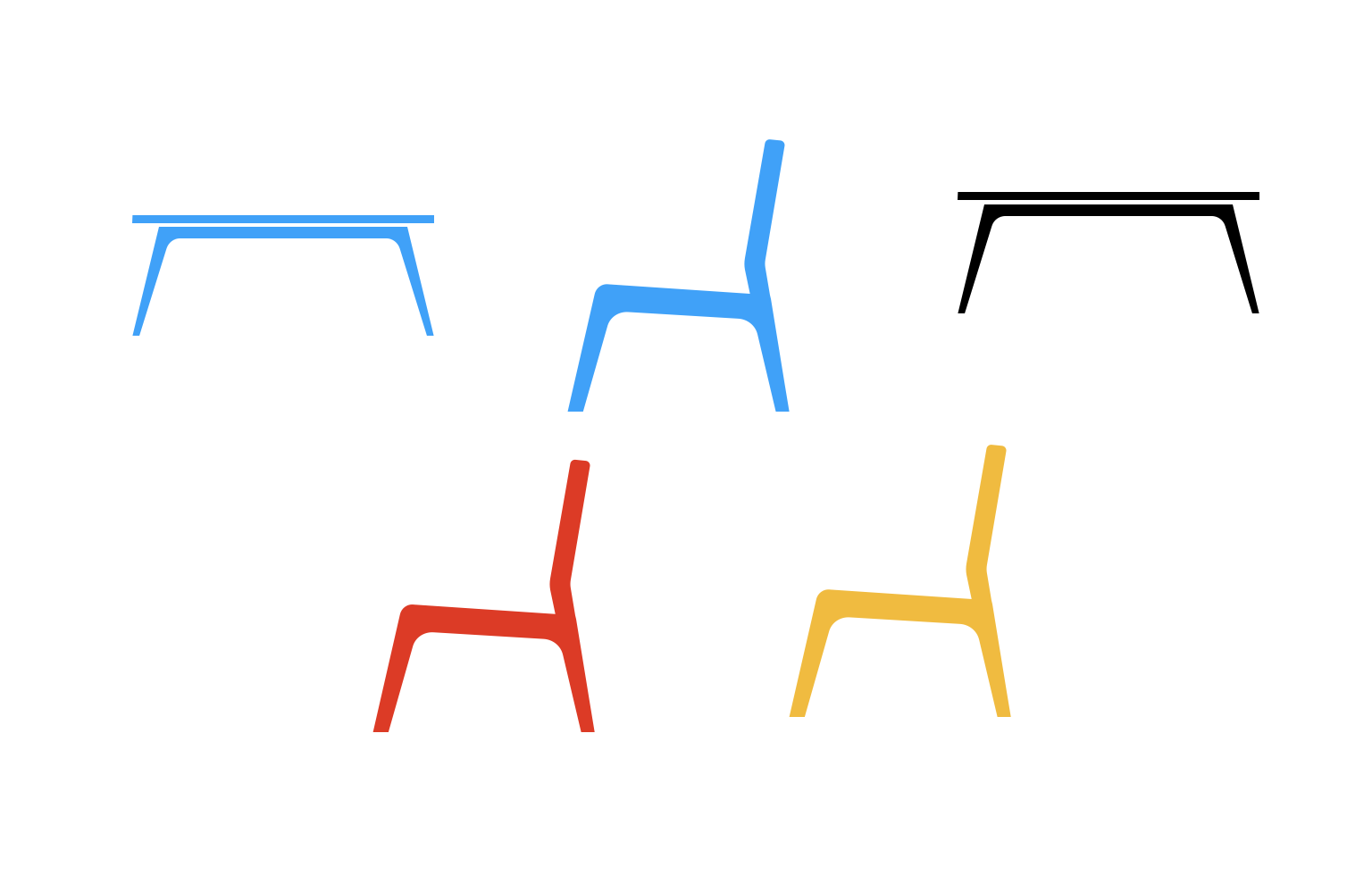 tables and chairs object